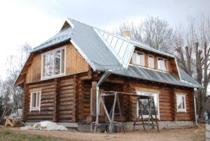 Valtsplekk katusetööd Võrumaal