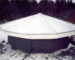 Katuse erikujulised plekitööd